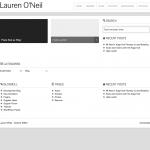 Lauren's blog