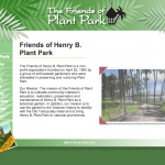 Friends of Plant Park Homepage